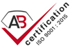 AB Certification ISO 9001